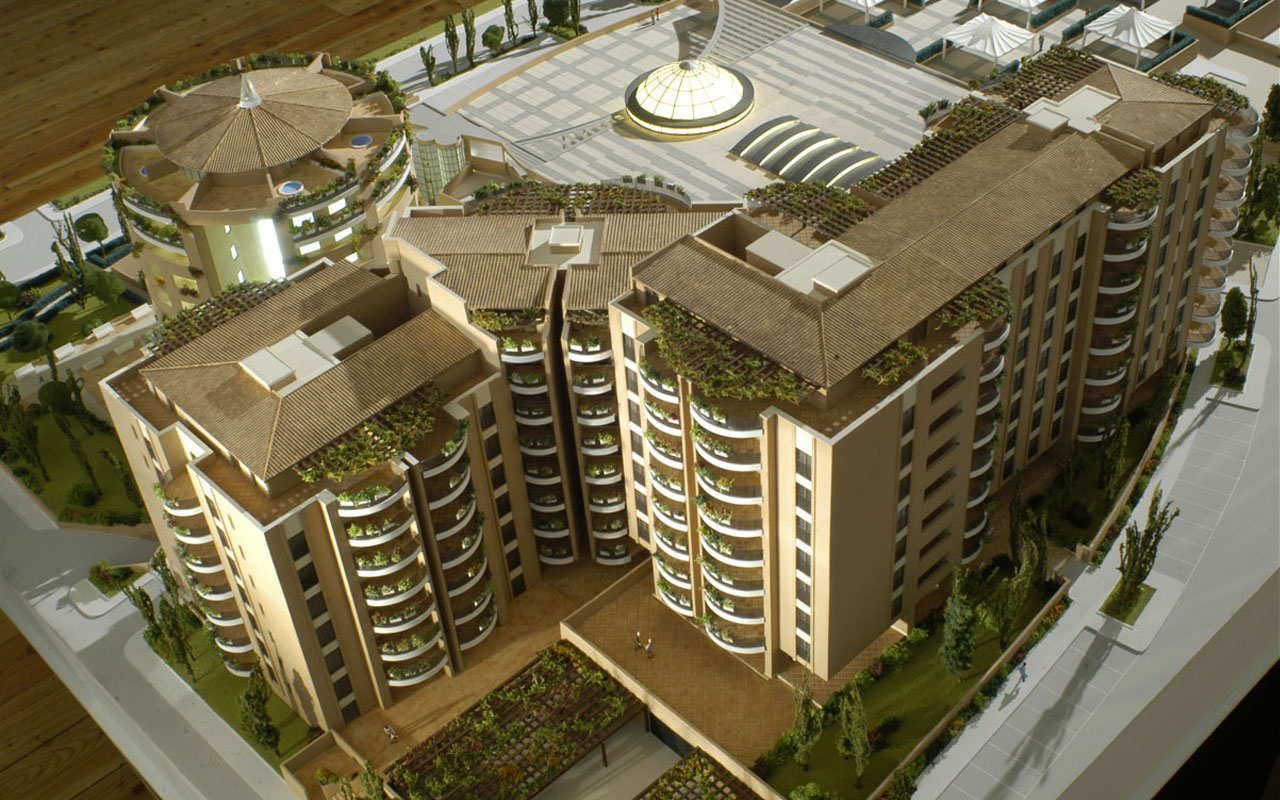 Romatre Project Homes Shopping Centre Z4 Area