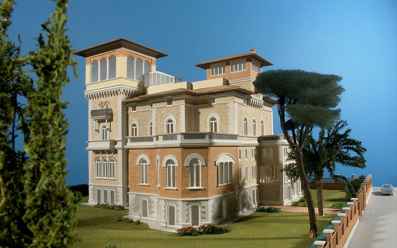 Romatre project house parioli rome for Project house